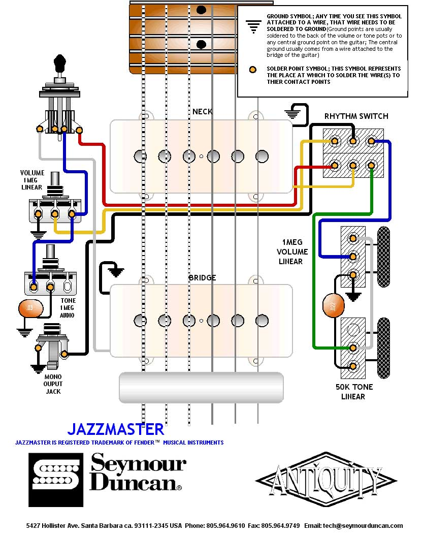 Soulsinger P90 Pickup Wiring Diagrams