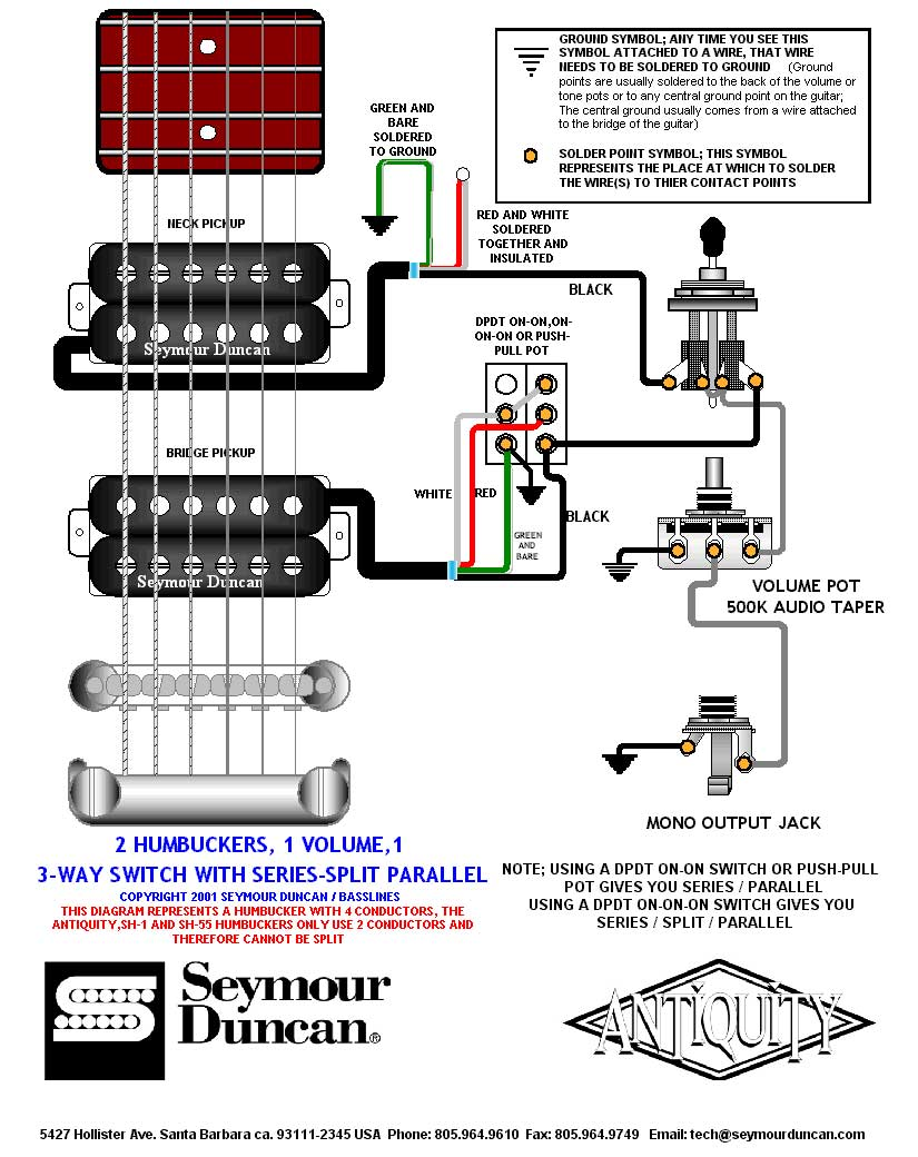 Famous Wiring Diagram For 150cc Scooter Tiny Two Humbuckers 5 Way Switch Flat Tsb Search 3 Coil Pickup Young 3 Pickup Guitar ColouredBulldog Remote Vehicle Starter System 2 Humbuckers In Series   Dolgular