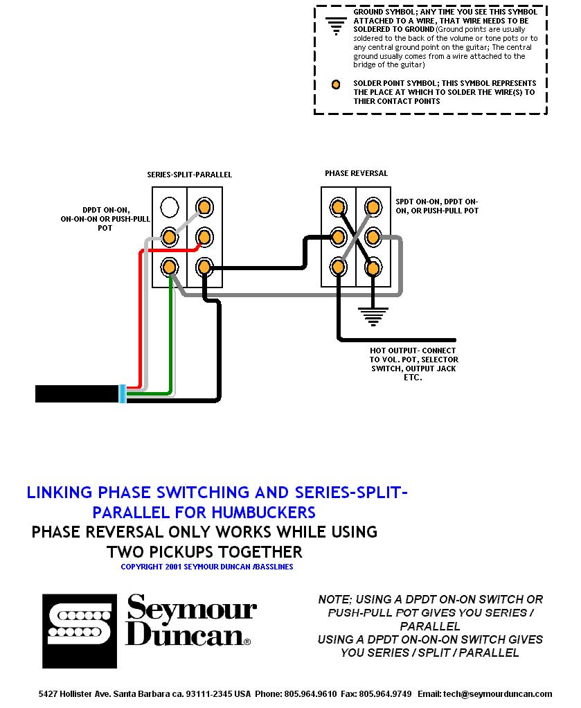 Seymour Duncan Hot Rails Wiring Diagram Stratocaster - Wiring Solutions