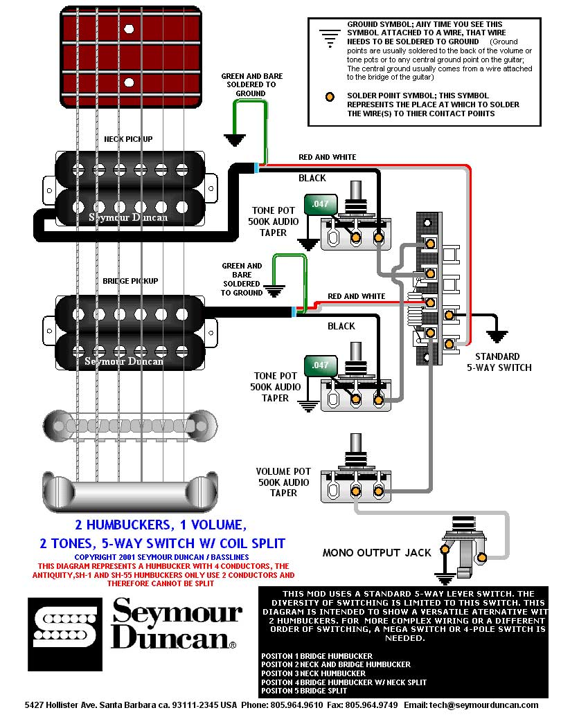 Emg 81 85 Wiring Diagram Les Paul 33 Images Afterburner 2hb 1vol 2tone 5way