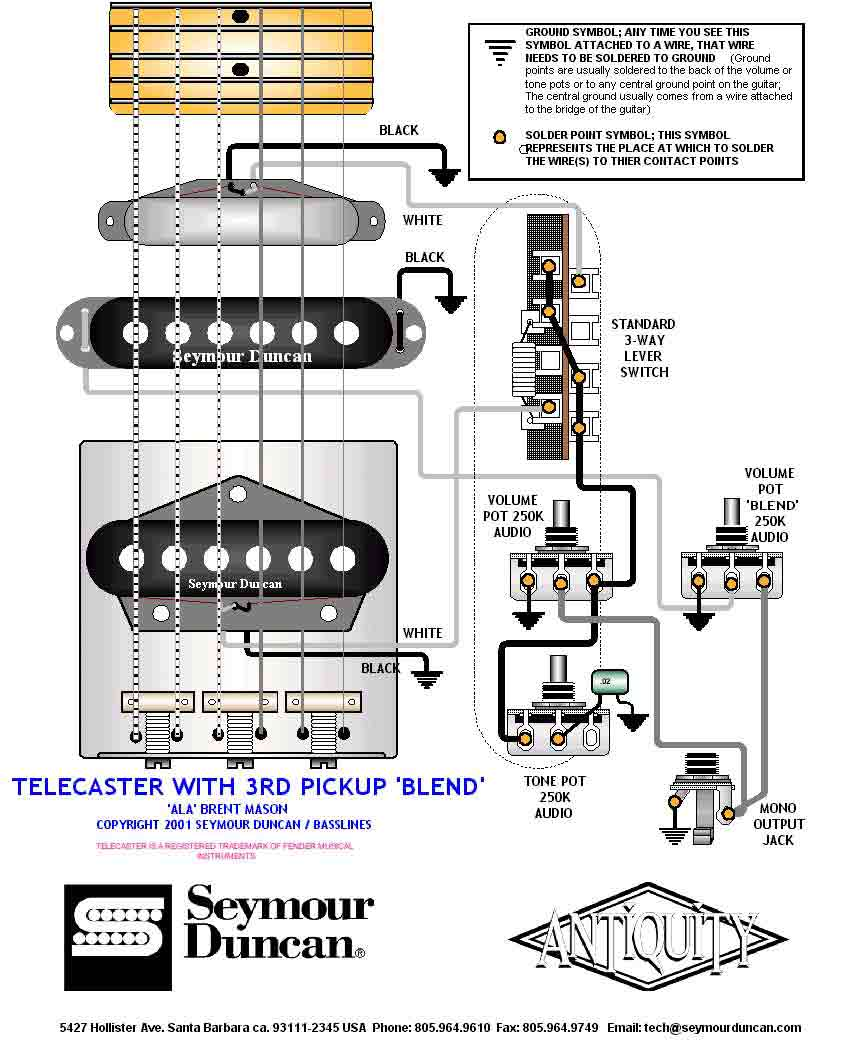 3 Way Guitar Switch Wiring Diagram Singles 5 1 Volume 2 Tones