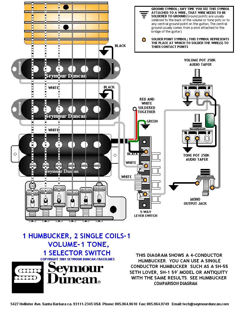 guitar 5 way switch wiring facbooik com 2 Position Selector Switch Wiring Diagram 2 humbuckers 1 volume 1 tone 5 way switch wiring on 2 images free 2 position selector switch wiring diagram