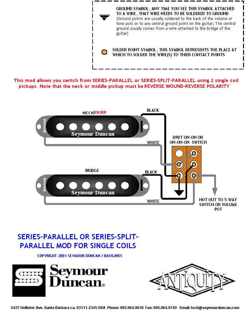 Series Parallel Switch Wiring Diagram 2 Singles 1