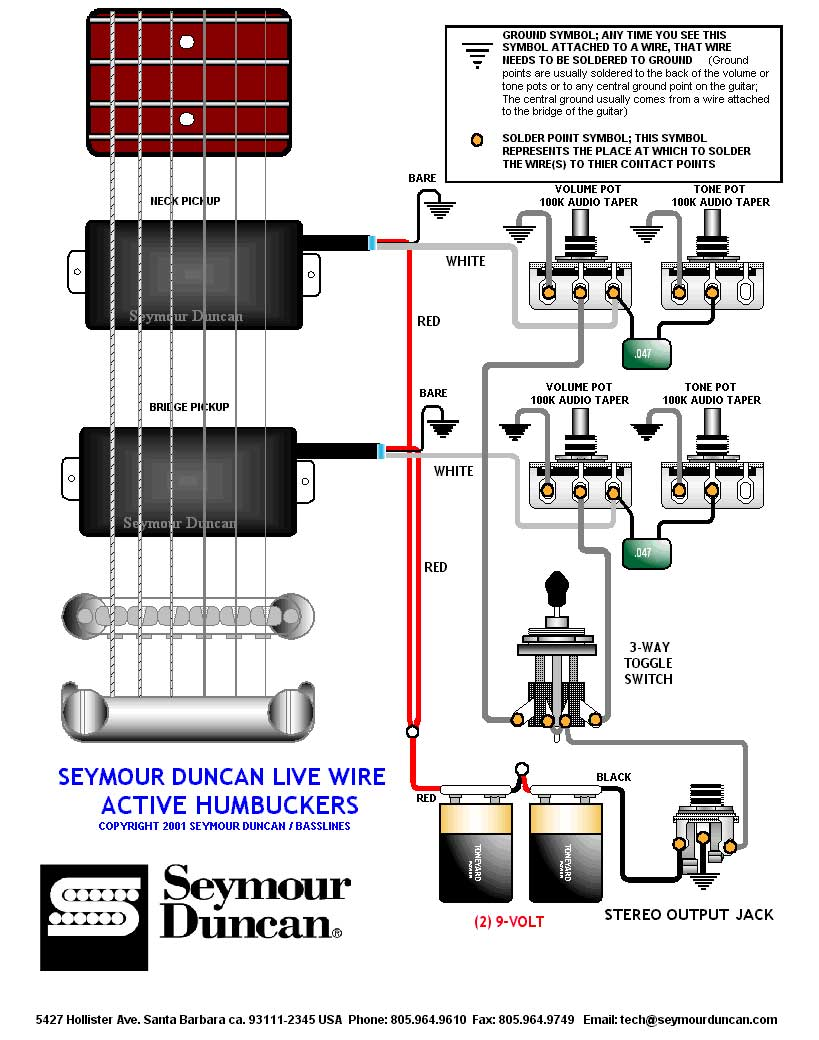 livewire_humbuckers wiring diagram for emg active pickups the wiring diagram seymour duncan nazgul wiring diagram at soozxer.org