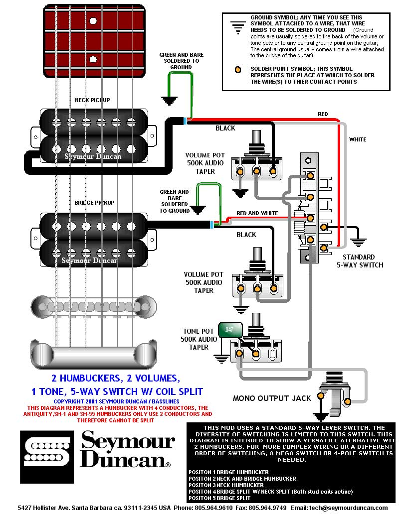 Jackson Humbucker Wiring Diagram Guitar Electric Wire 2 1voluume 1 Tone